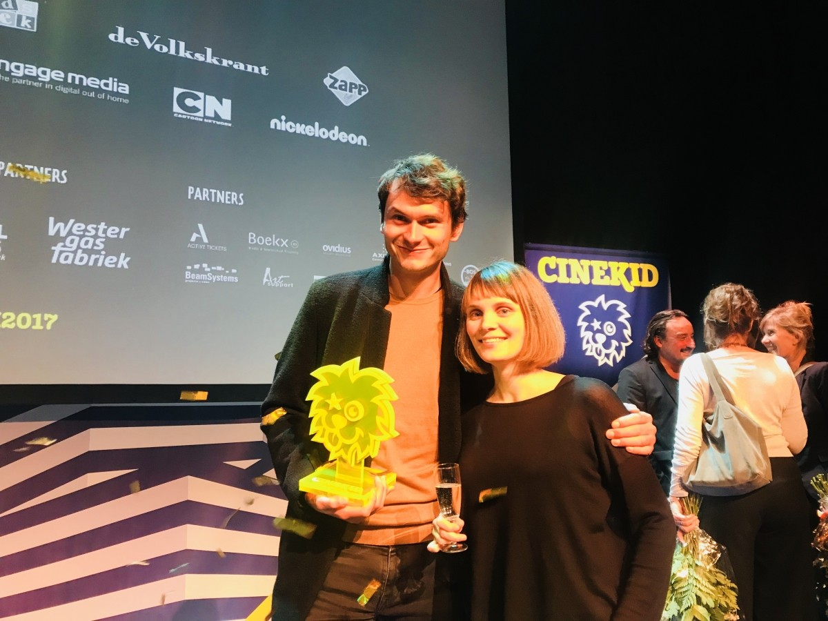 Animated Fruits of Clouds wins at the Cinekid Festival